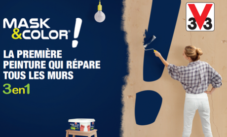 Mask&Color, the paint revolution!