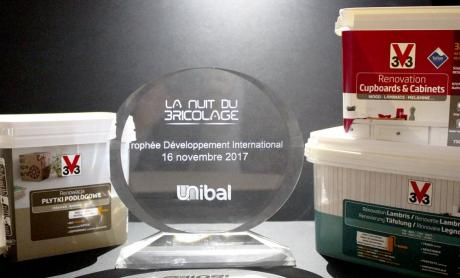 V33 wins an international growth prize